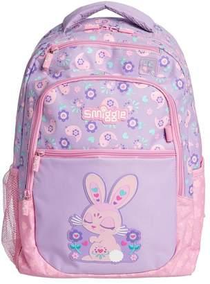 Girls Smiggle Deja Vu Backpack - Purple