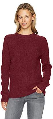 Pendleton Women's Ribbed Lambswool Pullover Sweater