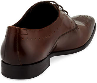 Bruno Magli Rosque Lace-Up Dress Shoe, Brown