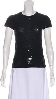 Marc by Marc Jacobs Sequin Wool Top
