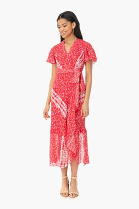 Tanya Taylor Guava Blaire Dress