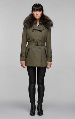 Mackage FRIDA-D classic neo trench coat with removable down vest
