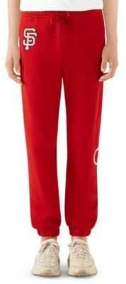 Gucci SF GiantsTM Cotton Jogging Pants