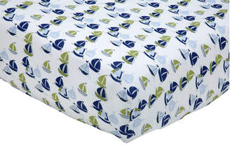 Nautica Zachary Fitted Crib Sheet