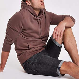 Levi's dark blue 511 slim fit denim shorts