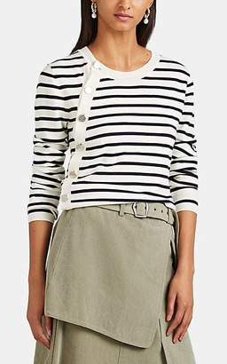 Altuzarra Women's Minamoto Striped Wool Cardigan - White