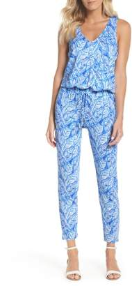 Lilly Pulitzer R) Paulina Racerback Jumpsuit