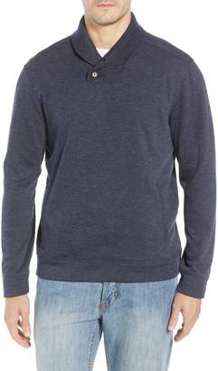 Tommy Bahama Sandbar Shawl Collar Regular Fit Pullover