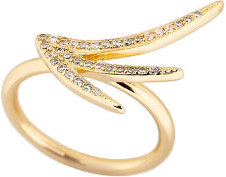 Jules Smith Designs Gold-Tone Spark Ring Size 7