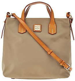 As Is Dooney & Bourke Windham Nylon Cleo Crossbody Bag $115 thestylecure.com