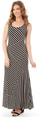 Apt. 9 Women's Mixed Stripe Maxi Dress