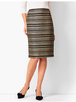 Talbots Tweed Pencil Skirt