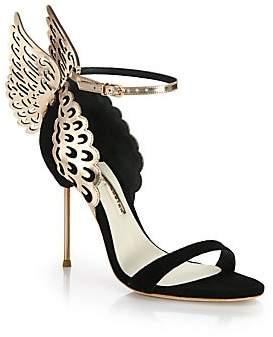 df42c7ca027 Sophia Webster Women s Wing-Embellished Suede Sandals