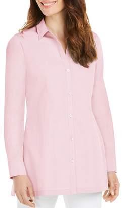 Foxcroft Harlow Non-Iron Cotton Tunic Shirt