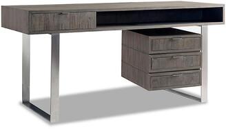 Palmer Desk - Driftwood - Brownstone Furniture