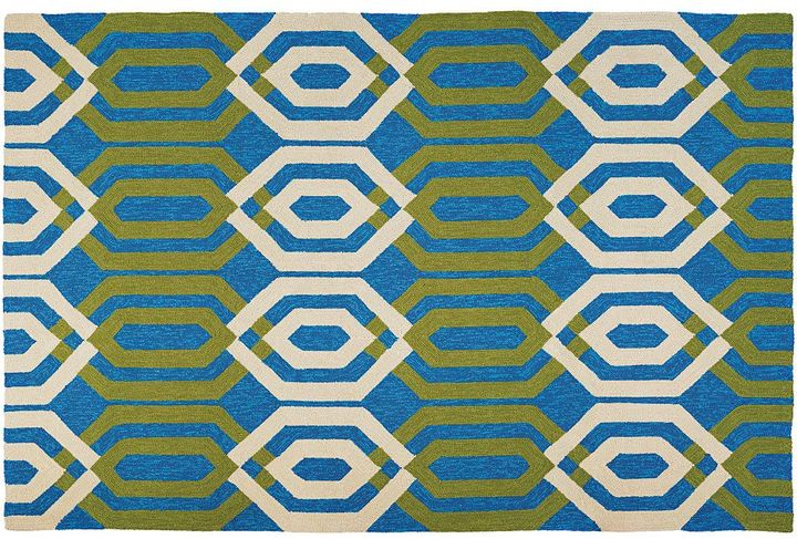 Couristan Couristan Covington Maisey Trellis Indoor Outdoor Rug