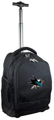 Mojo Outdoors San Jose Sharks 19'' Premium Wheeled Backpack - Black - No Size