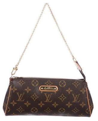 Louis Vuitton Monogram Eva Pochette w/ Strap