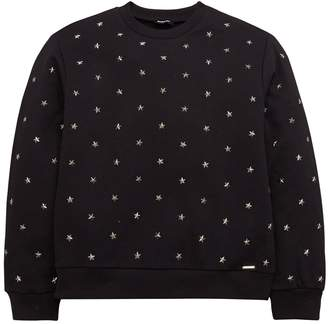 Diesel Girls Star Studded Sweatshirt