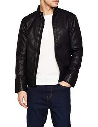 Tom Tailor Casual Men's 1007512 Jacket, (Black 29999), XX-Large