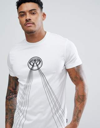 Diesel T-DIEGO-TB Laser Print T-Shirt with Back Print
