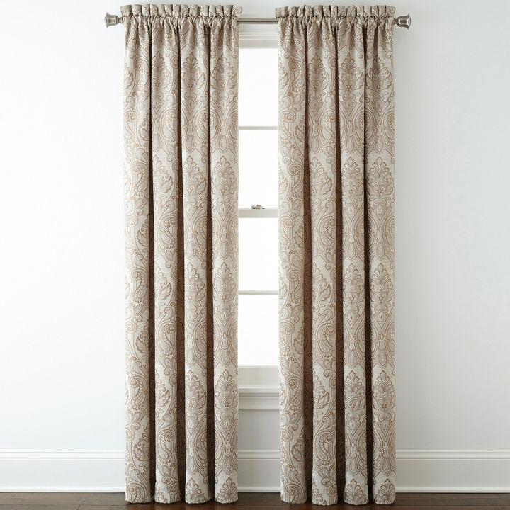 Royal Velvet Manchester Rod Pocket Curtain Panel Shopstyle