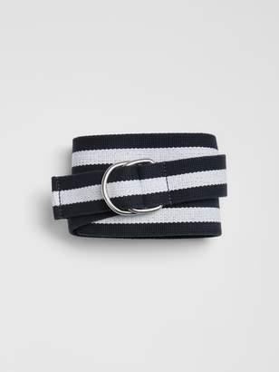Gap Stripe Webbing Belt