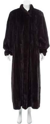 Lanvin Mink Full Length Coat