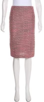 Barneys New York Barney's New York Woven Knee-Length Skirt