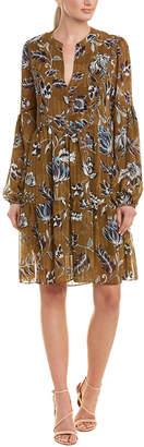 BCBGMAXAZRIA Woven Shift Dress