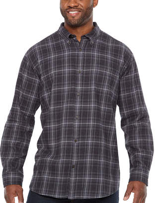 Co THE FOUNDRY SUPPLY The Foundry Big & Tall Supply Long Sleeve Flannel Shirt-Big and Tall