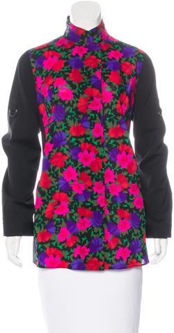 Akris PuntoAkris Punto Wool Floral Tunic