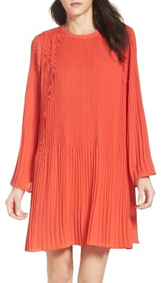 Women's Adelyn Rae Chiffon Shift Dress $98 thestylecure.com