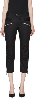 Dsquared2 Black Icon Trousers $895 thestylecure.com