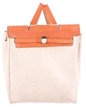 Hermes Toile Herbag Backpack
