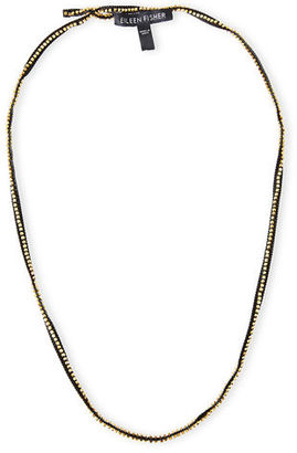 Eileen Fisher Ribbons Beaded Necklace $58 thestylecure.com