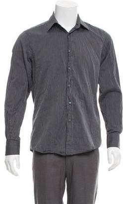 Gucci Woven Pinstripe Shirt