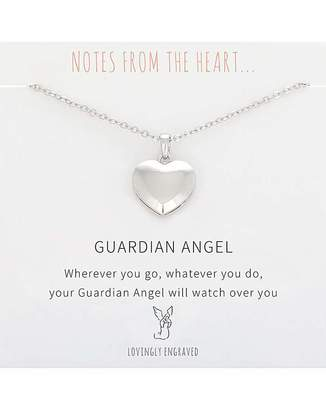 Angel Heart Note From The Heart Guardian Pendant
