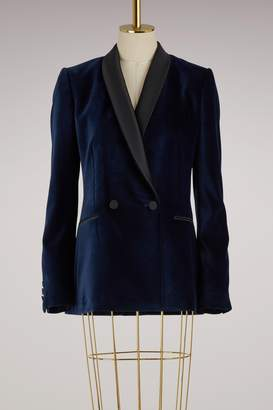 Stella McCartney Esther velvet jacket