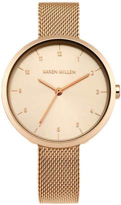 Karen Millen Metallic Mesh Watch