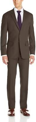 Nautica Men's Classic Fit 2 Button Side Vent Nested Suit