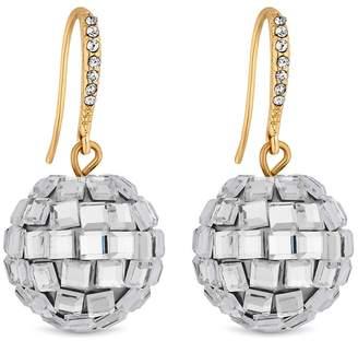 Lipsy Mirror Ball Drop Earrings