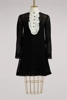 RED Valentino Crochet Dress