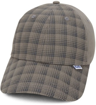 Keds Women's Plaid Brushed Cotton Baseball Cap