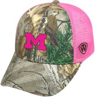 Top of the World Adult Michigan Wolverines Sneak Realtree Snapback Cap