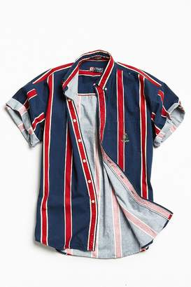 Urban Outfitters Vintage Vintage '90s Vertical Stripe Short Sleeve Button-Down Shirt $44 thestylecure.com