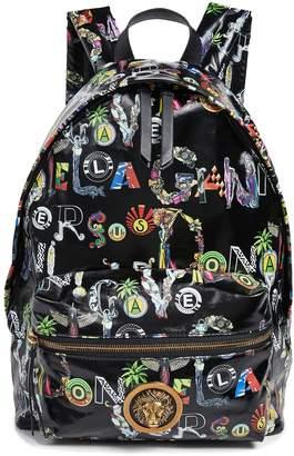 Versace Print Backpack