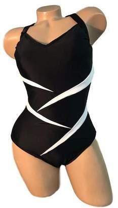 Carol Wior Splice Front Swimsuit