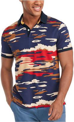 Tommy Hilfiger Men Jones Camouflage Polo Shirt