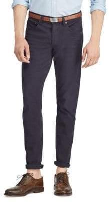 Polo Ralph Lauren Men's Slim Fit Stretch Pants - Navy - Size 36x30
